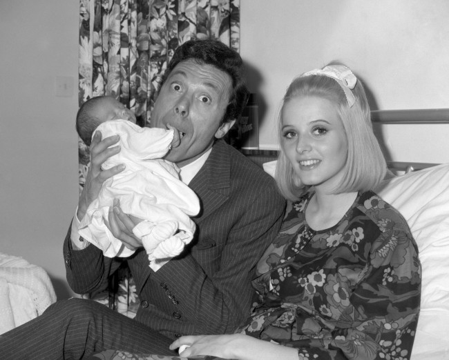 Dancer Lionel Blair with his wife Susan and their new born son Daniel. Ref #: PA.7291791  Date: 14/08/1968