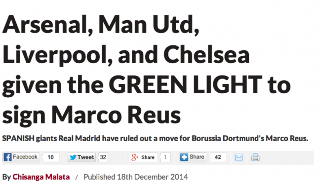 Screen shot 2014 12 19 at 19.37.21 Transfer Balls: Manchester United get Reus who doesnt move to Manchester United