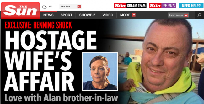Screen shot 2014 12 21 at 07.04.09 Knives out for Alan Hennings widow: Barbara Henning accused of love