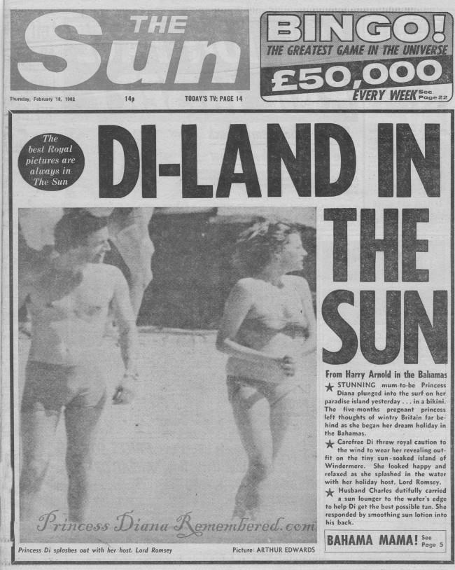 the sun diana