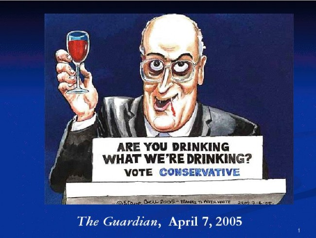 Michael Howard  - then Tory leader