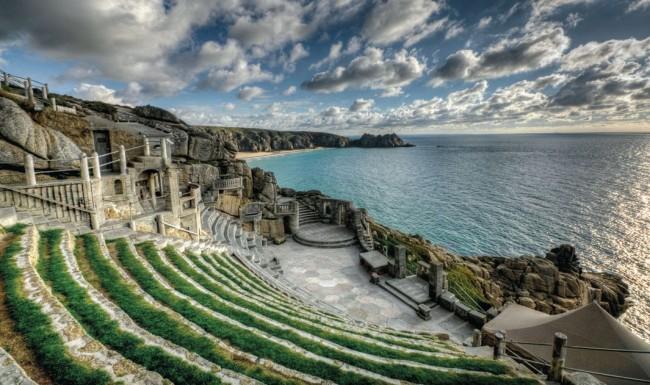 Minack Theatre, Cornwall, England.