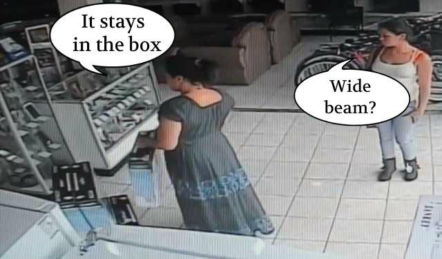 tv theft