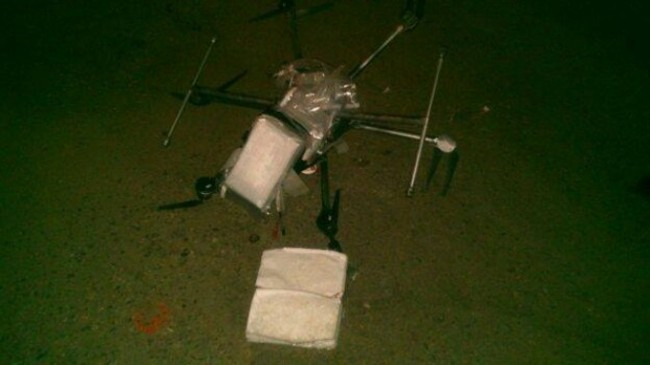 wasted drugs drone