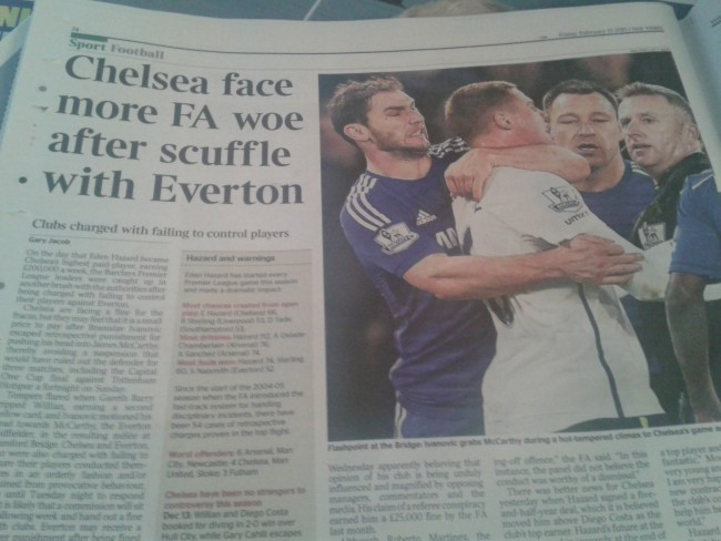Chelsea ban