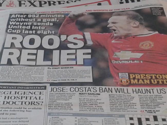 Rooney dive