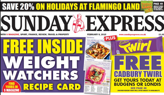 Sunday Express fat