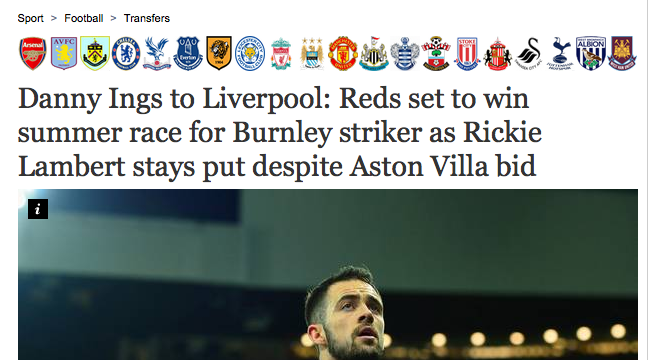 Danny Ings liverpool move