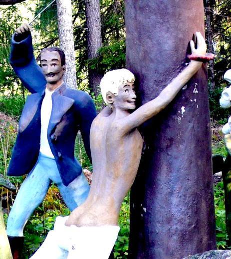 creepy finland
