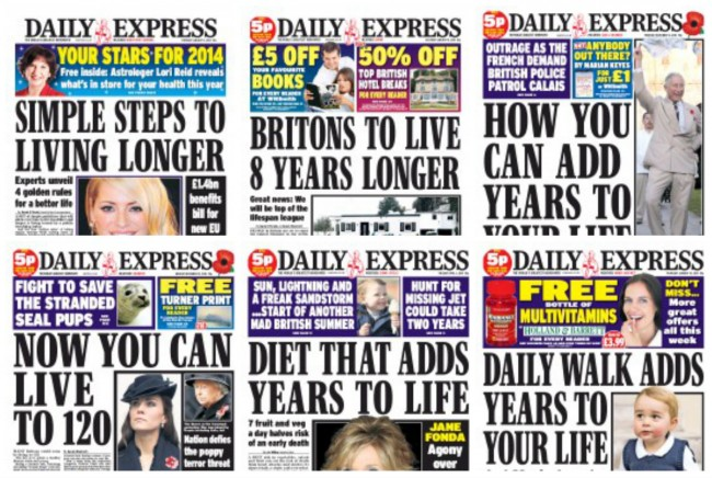 daily express life