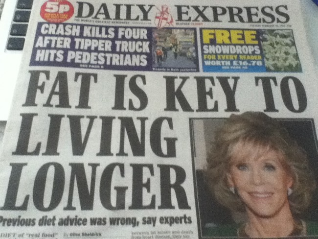 daily express fat