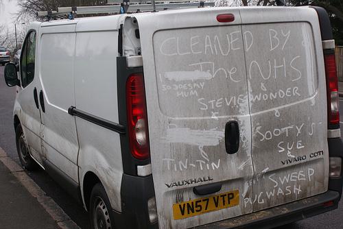 White Vans Drawings White Van Dirt