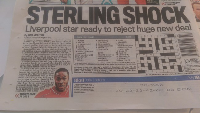 daily mail raheem sterling