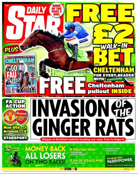 daily star ginger rats