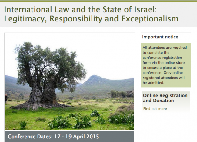 International Law and the State of Israel: Legitimacy, Responsibility and Exceptionalism