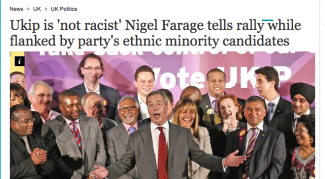 Nigel farage emplyment