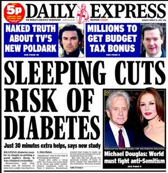 daily express sleep kills