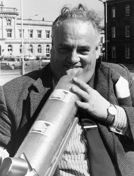Cyril Smith in 1981 peadophile rochdale liberal