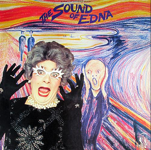 Australian cover for 1978's Sound of Edna LP -