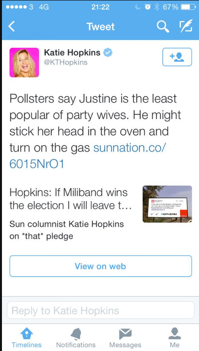 katie hopkins gas miliband