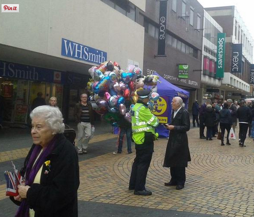 James Melville ‏@JamesMelville I am worried about The Queen. She appears to be out canvassing for UKIP.