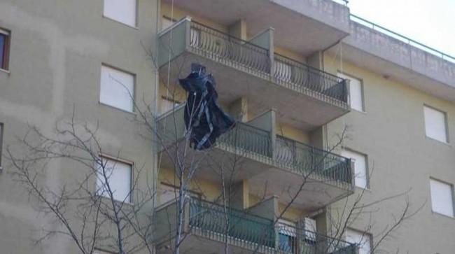 ISIS jacket flag