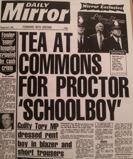 Daily Mirror, 21st May 1987