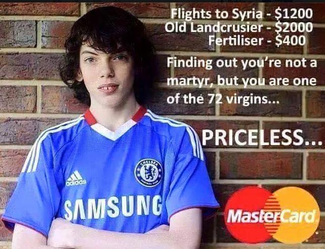 Jake Bilardi Chelsea ISIS