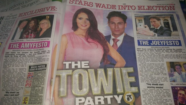 joey essex amy childs conservative