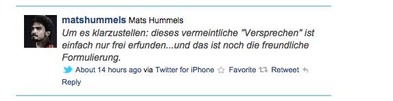 hummels twitter