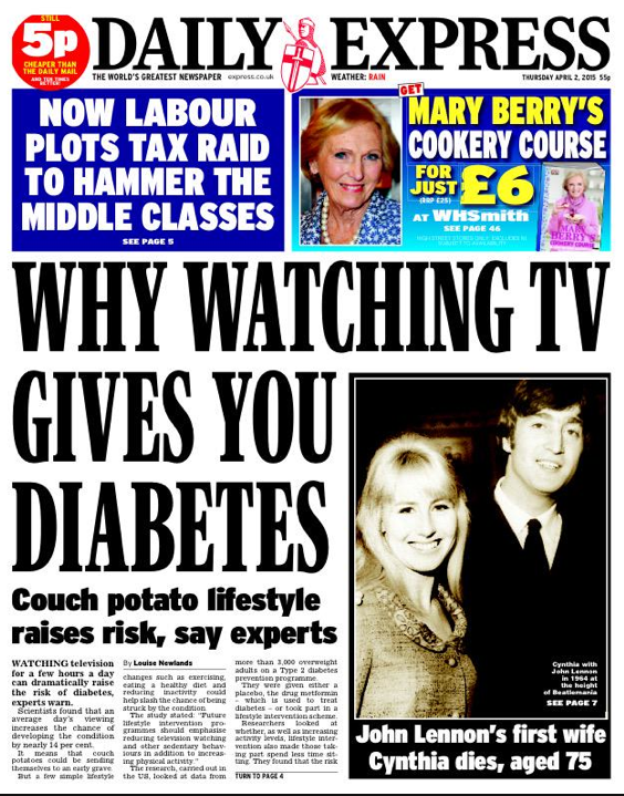 watch tv diabetes