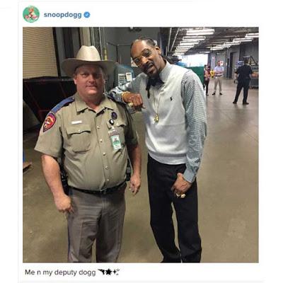 Snoop Dogg deputy police