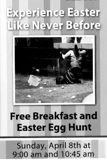 Easter egg hunt fail