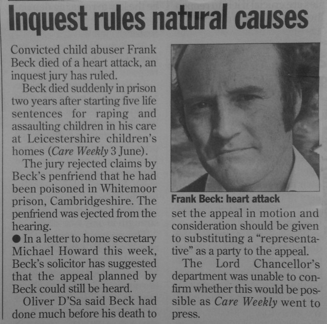 Care Weekly, 28th July 1994