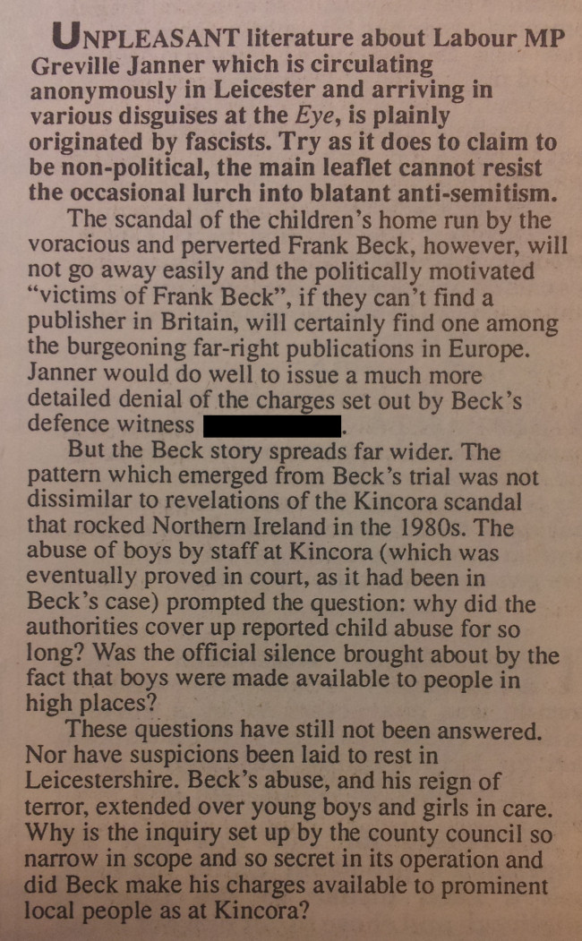 Private Eye, 14th February 1992