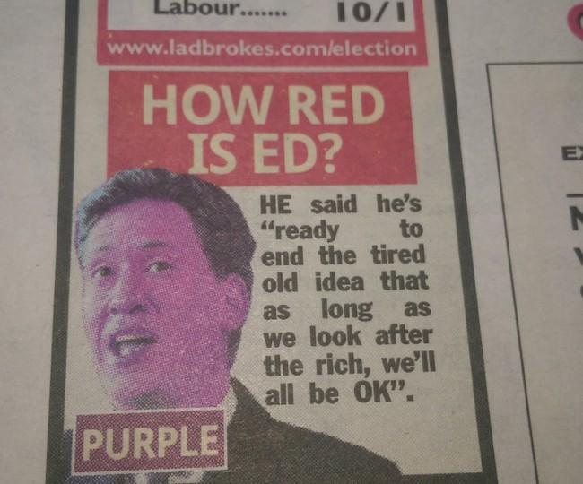 ed miliband red