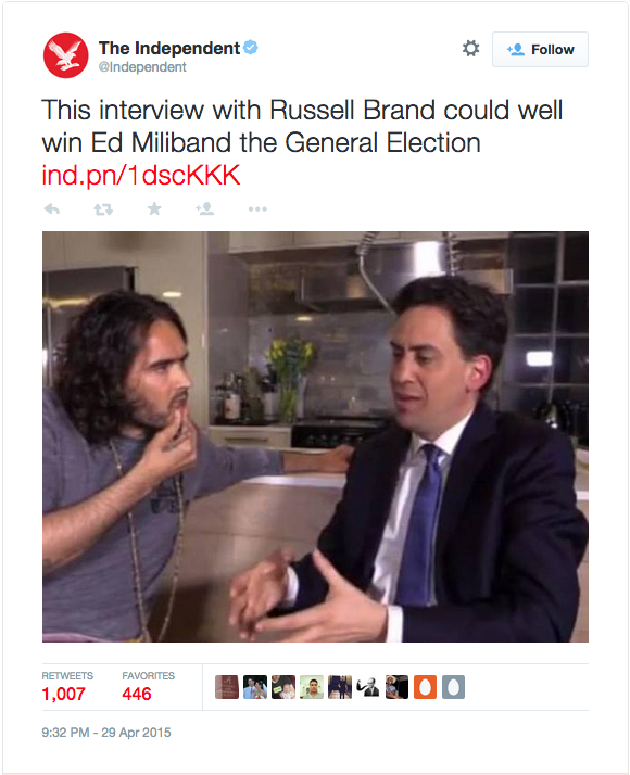 Russell BRand Independent