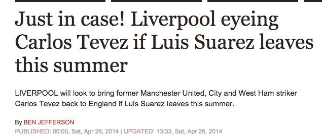Liverpool Tevez