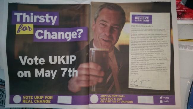 UKIP letter