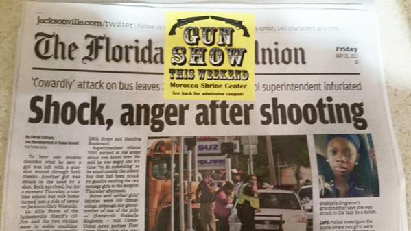 Florida Times-Union gun