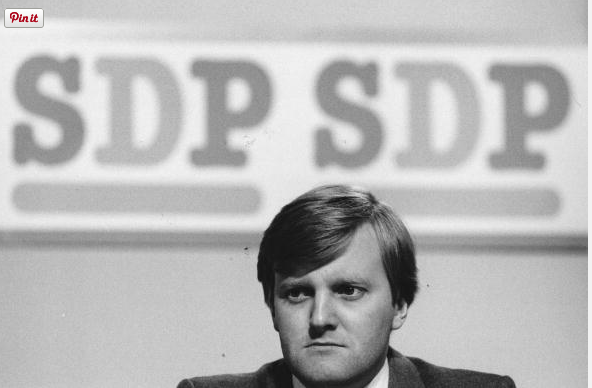 eptember 1986: Charles Kennedy MP at the SDP conference.