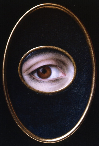 'Eye of a Young Woman'. Artist: Joseph Sacco