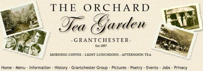 Grantchester tea garden