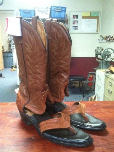 cowboy sandals 1