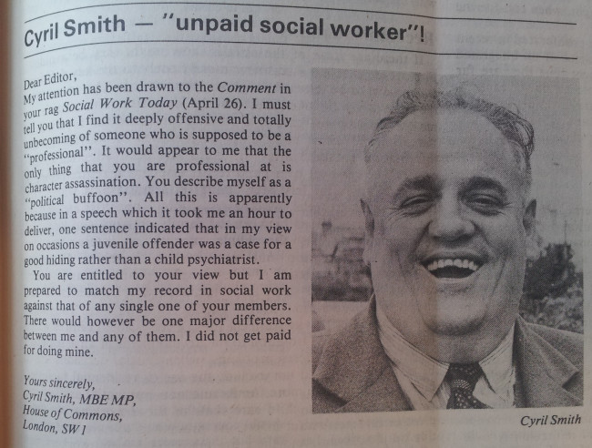 Social Work Today, 10th May 1977
