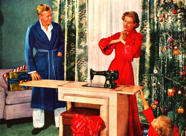 sewing machine 1950s