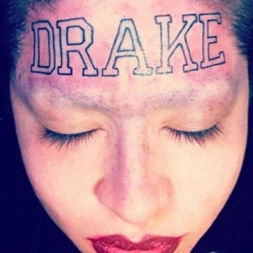 drake bad tattoo
