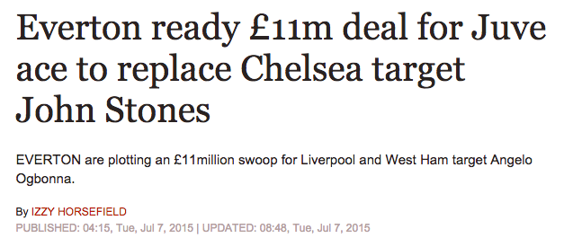 Jost STones Everton Chelsea