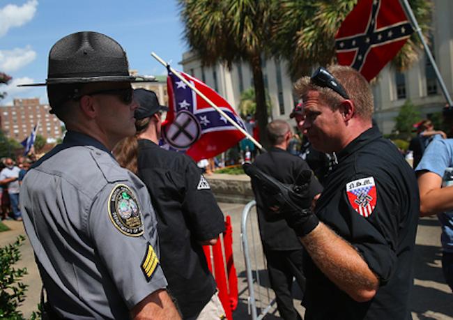 Klan rally Carolina state house