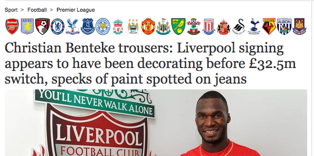 Benteke trousers